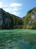 Mening over Koh Phi Phi eiland royalty-vrije stock foto's