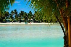 Mening over lagune. Royalty-vrije Stock Foto's