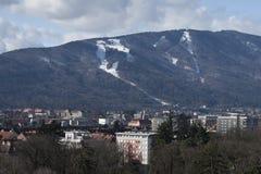 Mening over Maribor Royalty-vrije Stock Fotografie