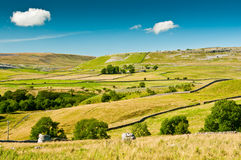 Mening over Noord-Yorkshire royalty-vrije stock foto's