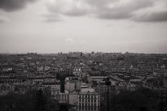 Mening over Parijs Stock Afbeelding