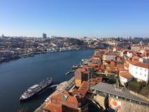 Mening over Porto Royalty-vrije Stock Foto's