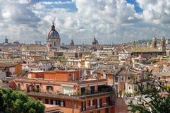 Mening over Rome Stock Foto's