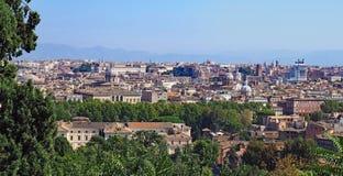 Mening over Rome Royalty-vrije Stock Afbeeldingen