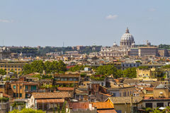 Mening over Rome, Italië Stock Afbeelding
