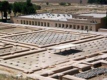 Mening over ruïnes van Persepolis Stock Foto's