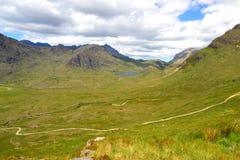 Schotse vallei Stock Foto's