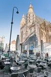 Mening over St Stephan Cathedral, Wenen, Oostenrijk Royalty-vrije Stock Fotografie