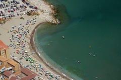 Mening over strand Royalty-vrije Stock Afbeelding
