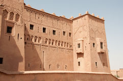 Mening over Taourirt Kasbah Royalty-vrije Stock Afbeelding