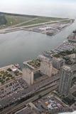 Mening over Toronto van de CN Toren Royalty-vrije Stock Foto