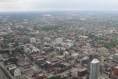 Mening over Toronto van de CN Toren Stock Afbeeldingen