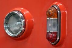 Mening over verlichting voor auto's stock foto