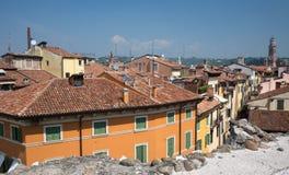 Mening over Verona Royalty-vrije Stock Foto's
