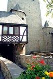 Mening uit de binnenplaats van het kasteel Altena Royalty-vrije Stock Foto