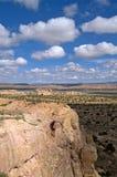 Mening van Acoma Pueblo stock afbeeldingen