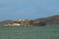 Mening van Alcatraz, San Francisco Stock Foto's