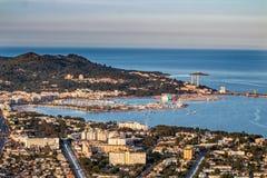 Mening van alcudia Mallorca royalty-vrije stock afbeelding