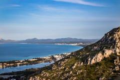 Mening van alcudia Mallorca royalty-vrije stock fotografie