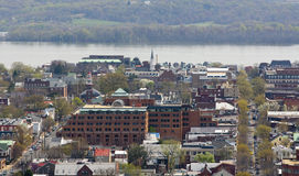 Mening van Alexandrië, Virginia de V.S. Stock Fotografie