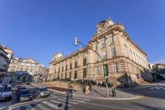 Mening van Almeida Garret Square Royalty-vrije Stock Afbeeldingen