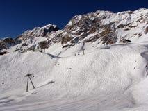Mening van Alpen Stock Afbeelding