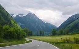 Mening van Alpen Royalty-vrije Stock Fotografie