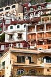 Mening van Amalfi Kust Italië Royalty-vrije Stock Foto