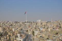 Mening van Amman Jordanië Stock Foto