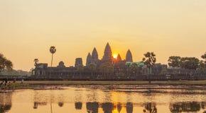 Mening van Angkor, Siem Riep, Kambodja Stock Foto