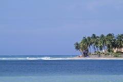 Mening van Arugam-baai, Sri Lanka Royalty-vrije Stock Foto's