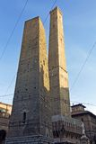 Mening van asinellitoren - Bologna Stock Afbeeldingen