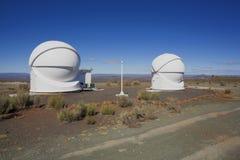 Mening van astronomisch waarnemingscentrum Stock Afbeelding