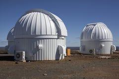 Mening van astronomisch waarnemingscentrum Royalty-vrije Stock Foto