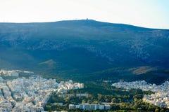 Mening van Attica, Griekenland Royalty-vrije Stock Afbeeldingen