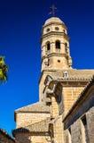 Mening van Baeza Kathedraal - Spanje, Andalusia royalty-vrije stock foto