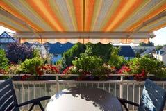 Mening van balkon Royalty-vrije Stock Afbeeldingen