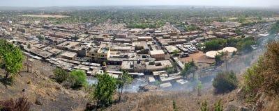 Mening van Bamako de stad royalty-vrije stock fotografie