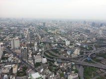 Mening van Bangkok Stock Foto