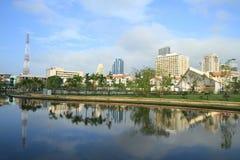 Mening van Bangkok, Thailand Royalty-vrije Stock Foto's