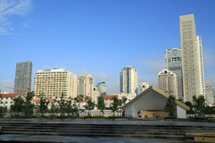 Mening van Bangkok, Thailand Stock Fotografie