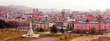 Mening van Batumi Stock Afbeelding