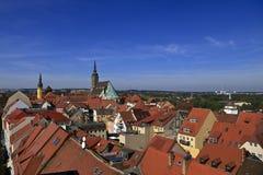 Mening van Bautzen Duitsland stock fotografie