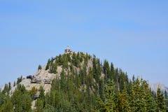Mening van berg in Banff Canada Stock Afbeelding