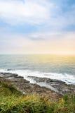 Mening van bergen en aard op de oostkust van Taiwan Royalty-vrije Stock Fotografie
