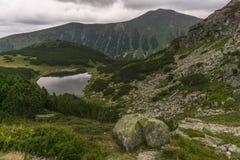 Mening van Bergen Slowakije van een sleep de Westelijke Tatra Royalty-vrije Stock Afbeelding