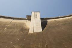 Mening van Bhumibol-Dam, Tak-provincie, Thailand Royalty-vrije Stock Afbeeldingen