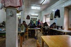 Mening van Bhutan stock foto's