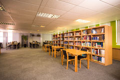 Mening van bibliotheek Stock Fotografie