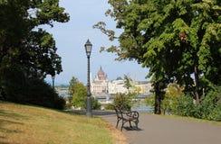 Mening van Boedapest royalty-vrije stock fotografie